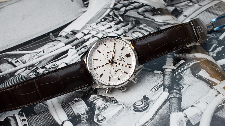 TAG Heuer Carrera Chronograph 42mm bicolor