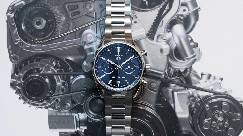 TAG Heuer Carrera Chronograph 42mm azul