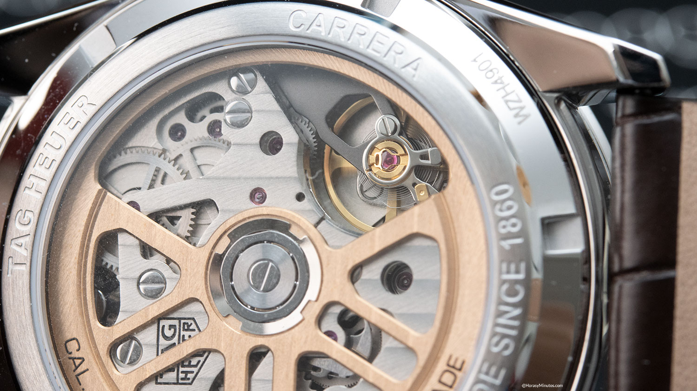 Calibre Heuer 02 del TAG Heuer Carrera Chronograph 42mm