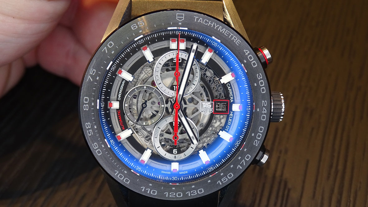 TAG Heuer Carrera Heuer 01 frontal