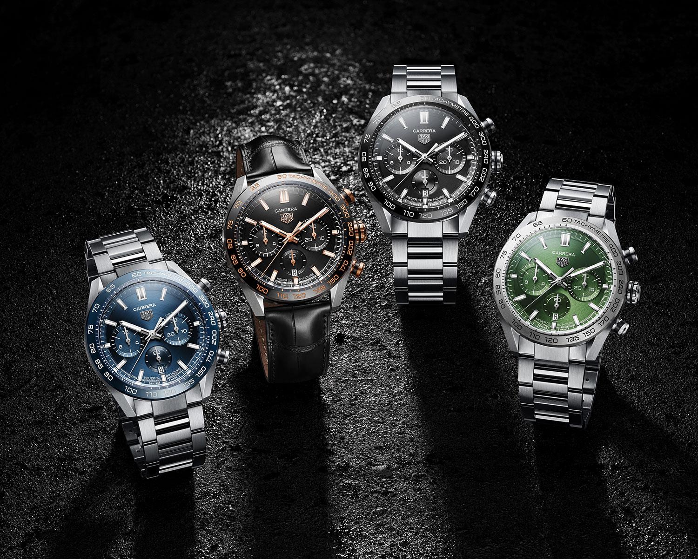Los nuevos TAG Heuer Carrera Sport Chronograph