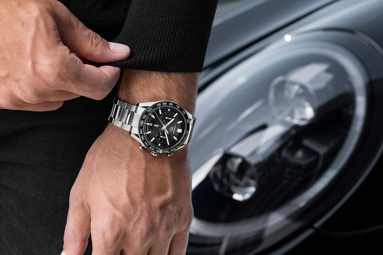 Así queda el TAG Heuer Carrera Sport Chronograph negro