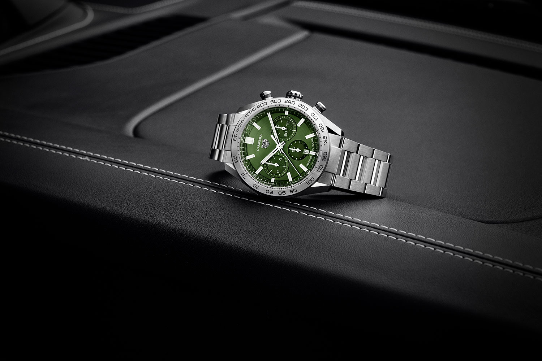 TAG Heuer Carrera Sport Chronograph en verde