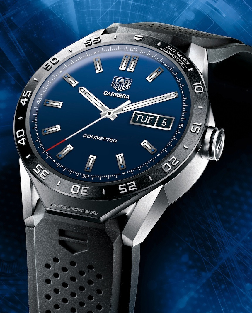 TAG Heuer Connected Watch perfil