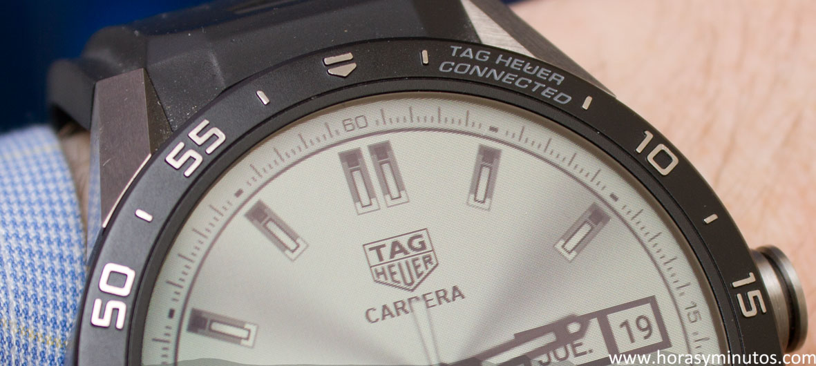 TAG-Heuer-Connected-bisel-Horasyminutos