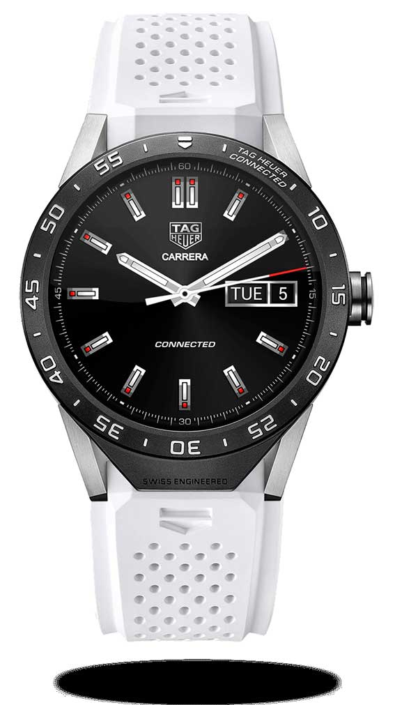 TAG Heuer Connected correa blanca