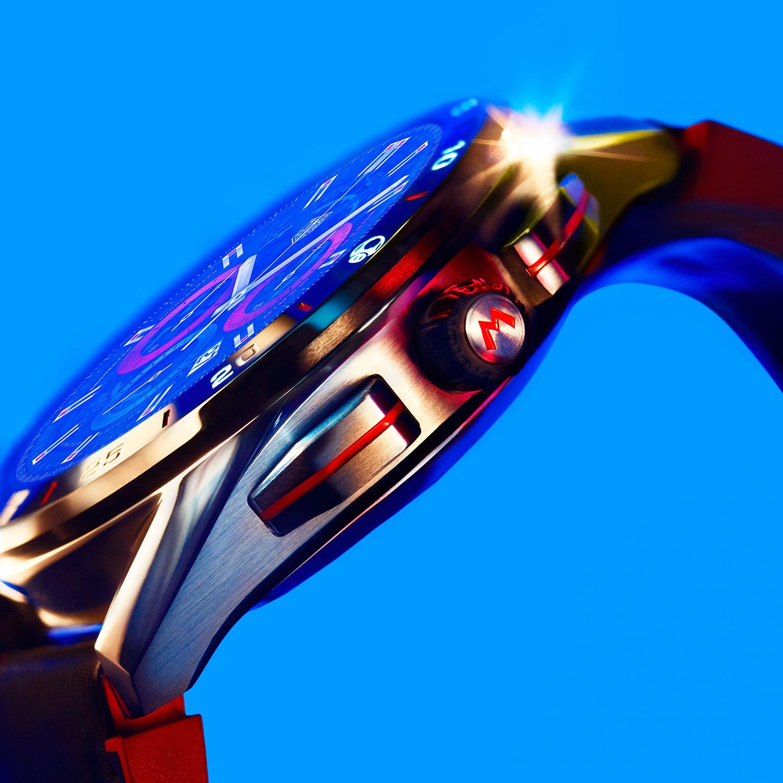 Perfil del TAG Heuer Connected x Super Mario