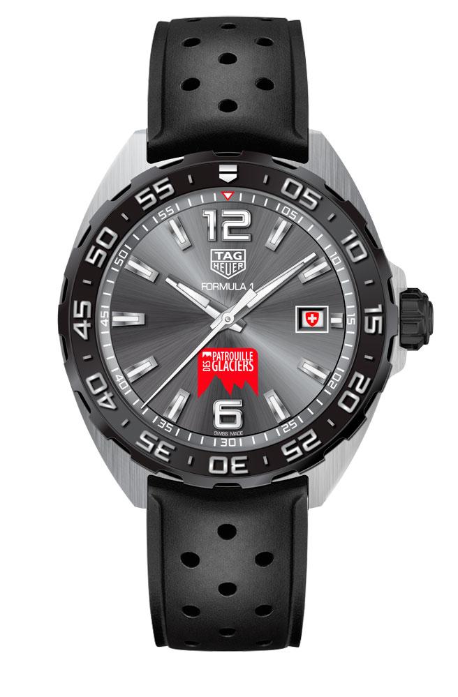 TAG Heuer Formula 1 Patrouille de Glaciers Special Edition watch