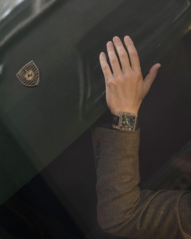 El TAG Heuer Monaco Esfera Verde Edición Limitada, puesto