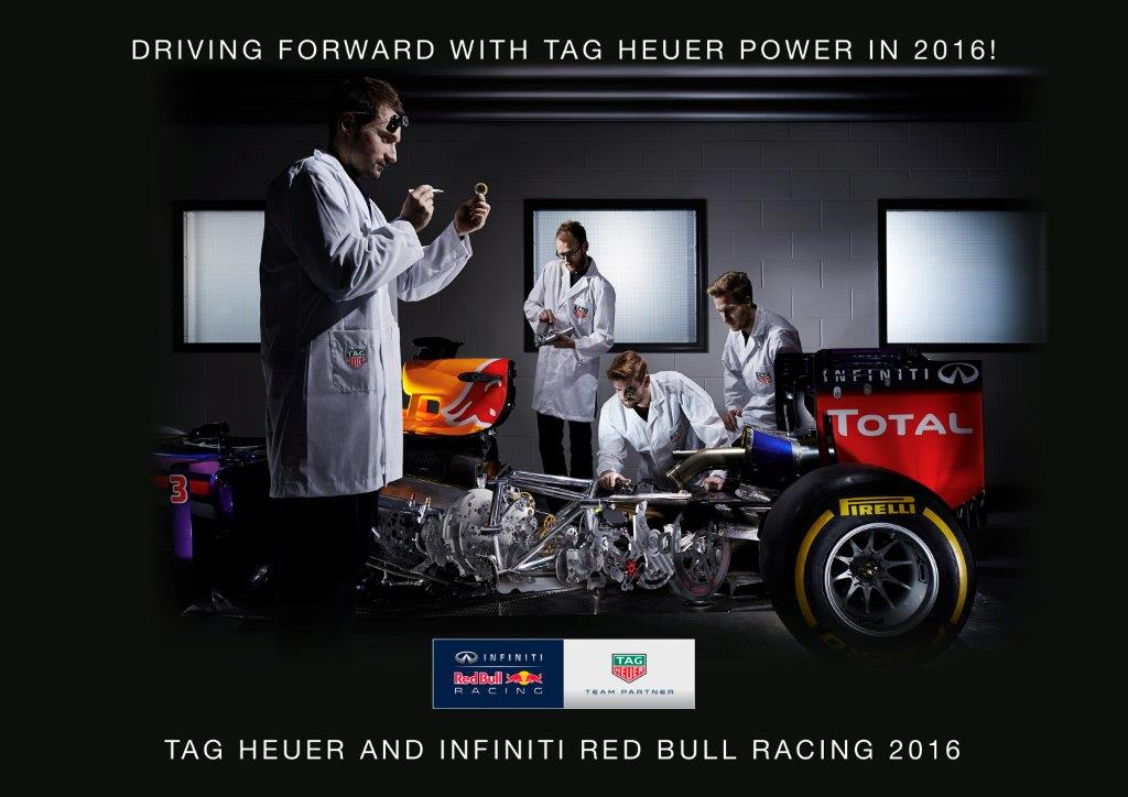 TAG Heuer RED BULL RACING Announcement Official Visual Dec2015 LD