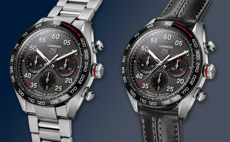 Las dos versiones del TAG Heuer Carrera Porsche Chronograph Special Edition