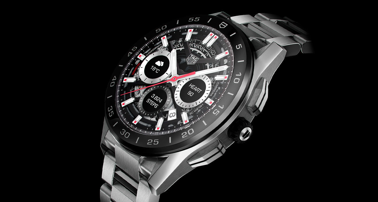TAG Heuer Connected 2020 en acero
