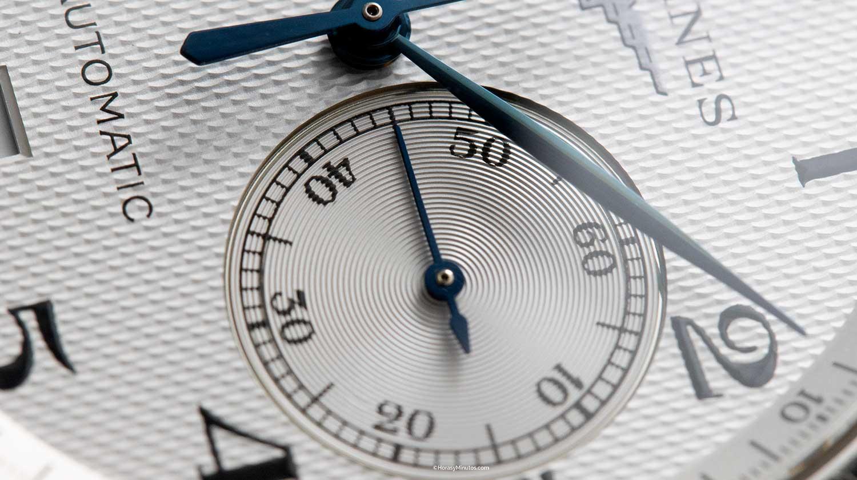 Pequeño segundero del Longines Master Collection Chronograph