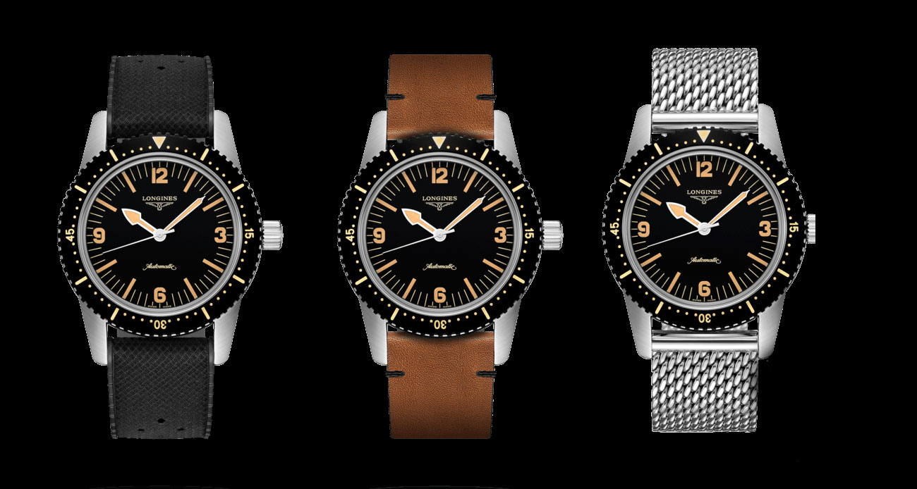 The Longines Skin Diver