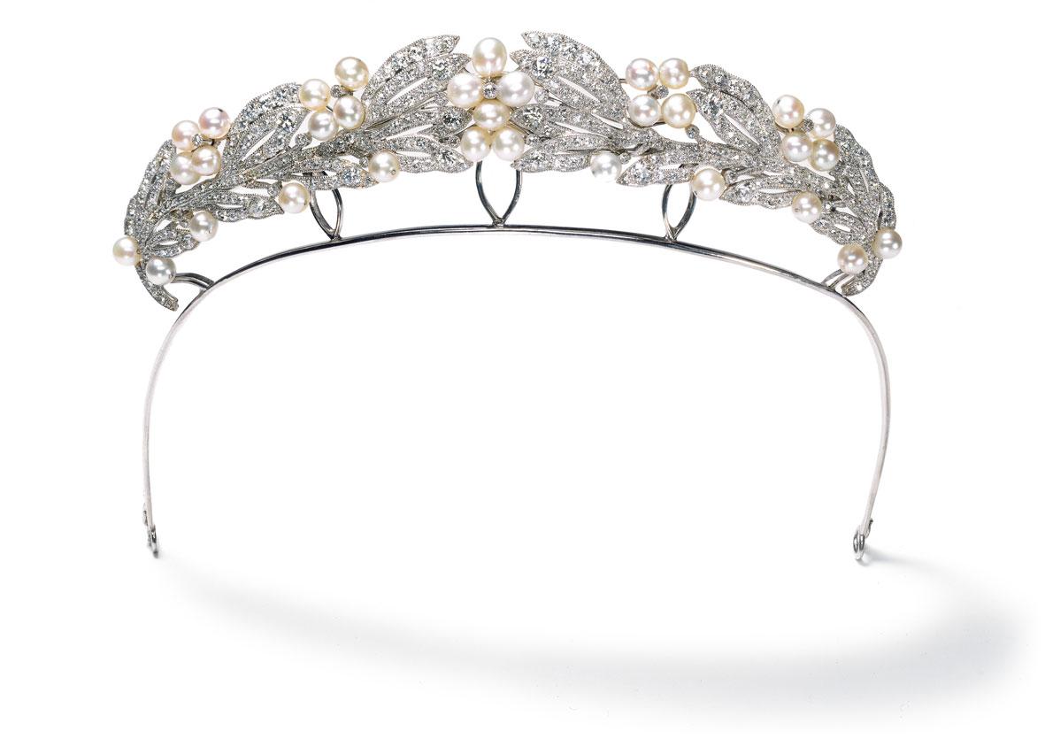 Tiara Cartier Paris, pedido especial, 1907 Marie Bonaparte