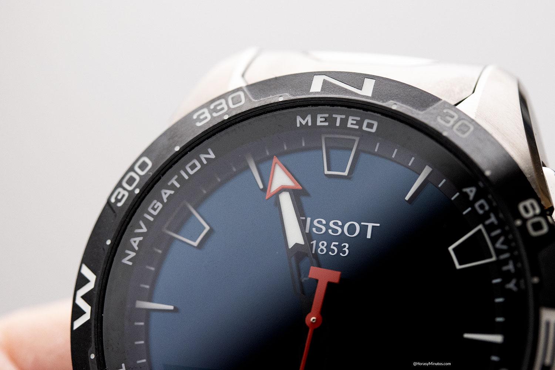 Detalle del Tissot T-Touch Connect Solar