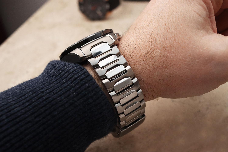 Brazalete de titanio del Tissot T-Touch Connect Solar