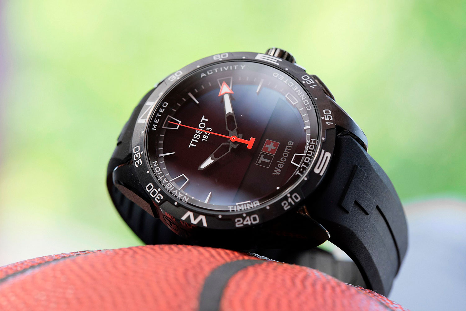 Tissot T-Touch Connect Solar con PVD negro