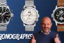 Tres cronógrafos mecánicos por menos de 1.500 euros