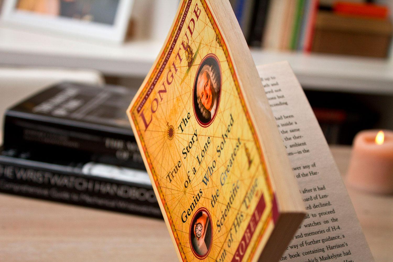 Tres libros sobre relojería. Longitud de Ada Soble