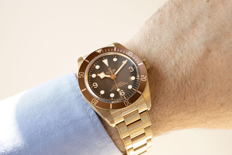 Así queda el Tudor Black Bay Fifty-Eight Bronze Boutique Edition