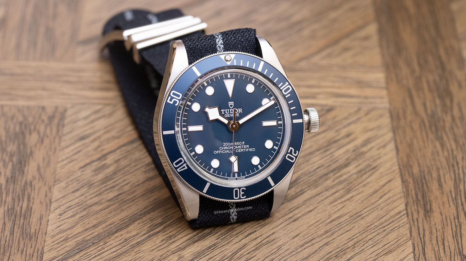 "El Tudor Black Bay Fifty-Eight ""Navy Blue"", con NATO"