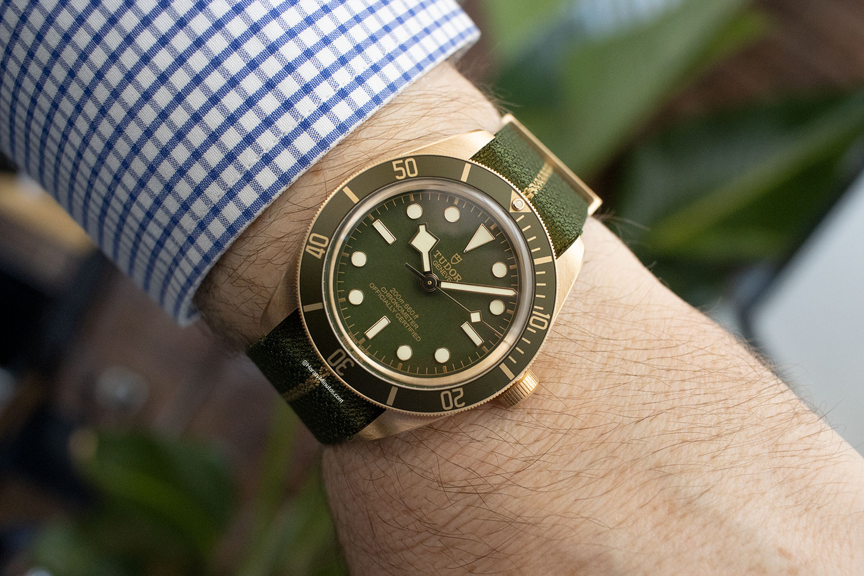 Así queda el Tudor Black Bay Fifty-Eight Oro