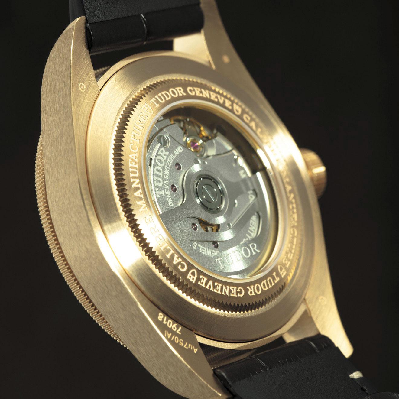 Calibre MT5400 del Tudor Black Bay Fifty-Eight Oro