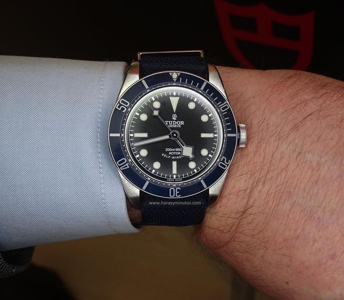 Tudor Black Bay azul SalonQP