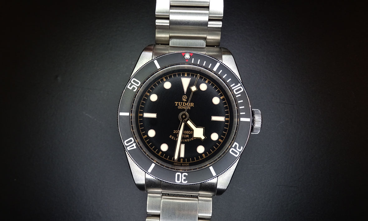 Tudor Heritage Black Bay Black frontal