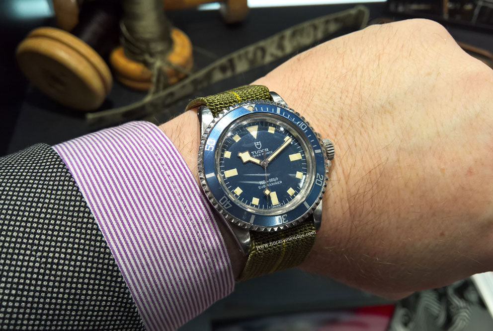 Tudor-Oyster-Prince-Submariner-Marine-Nationale-1977-Horasyminutos