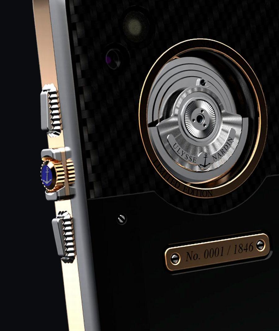 Rotor del Ulysse Nardin Chairman Móviles con Relojes Mecánicos