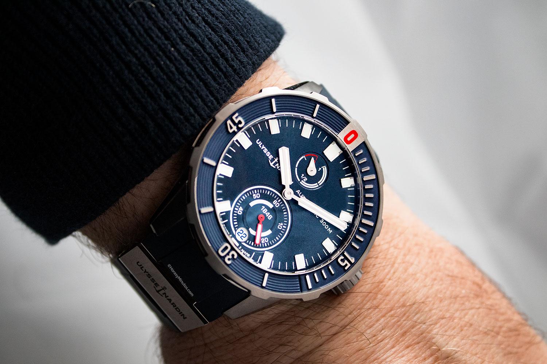 Así queda el Ulysse Nardin Diver Chronometer