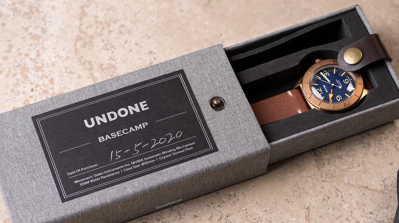 Caja del Undone Basecamp Bronze