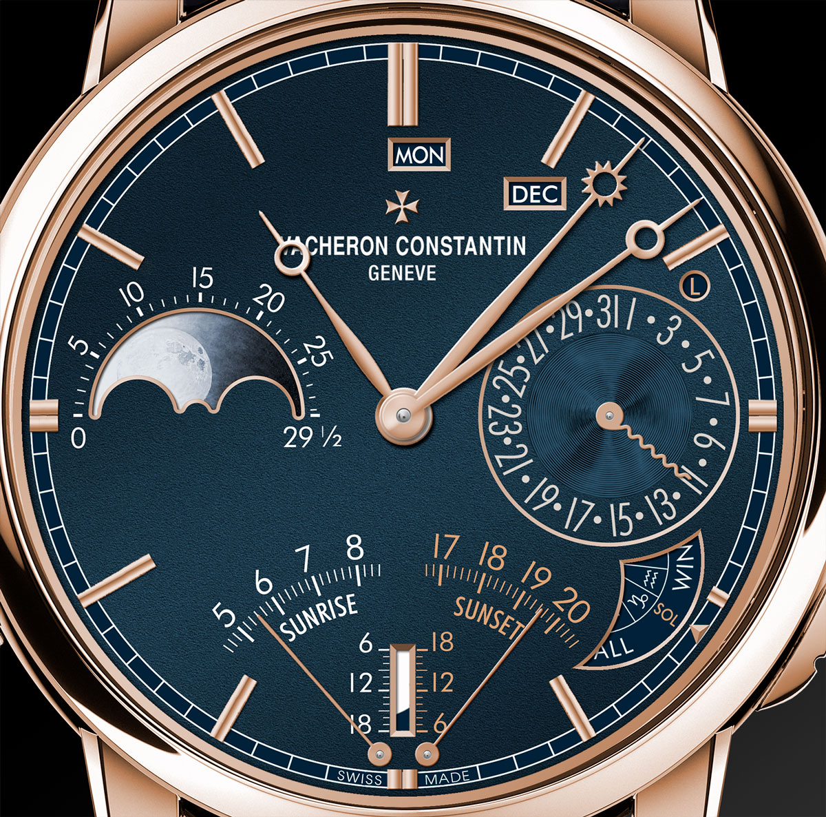 Les Cabinotiers Astronomical Grand Complication Sonnerie 1 Horas y Minutos anverso