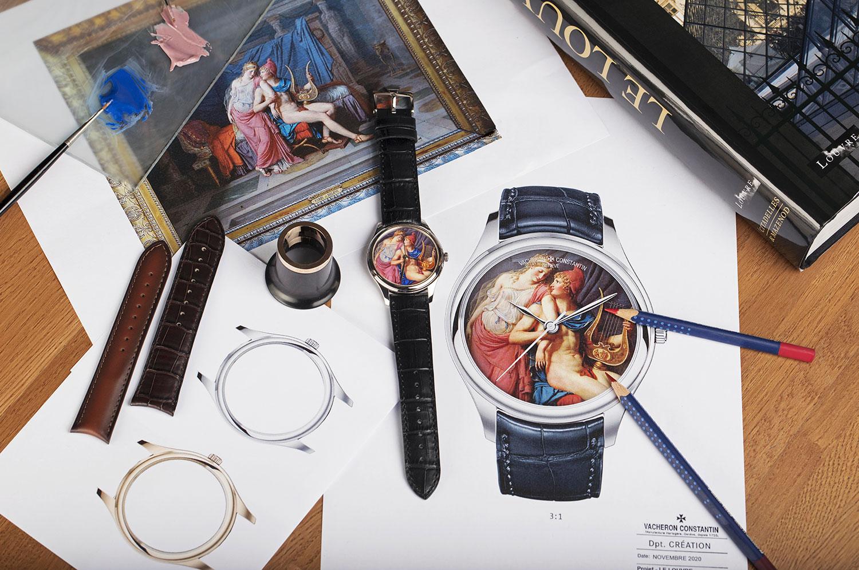"""Recreación del Vacheron Constantin Les Cabinotiers """"Bid for the Louvre"""""""