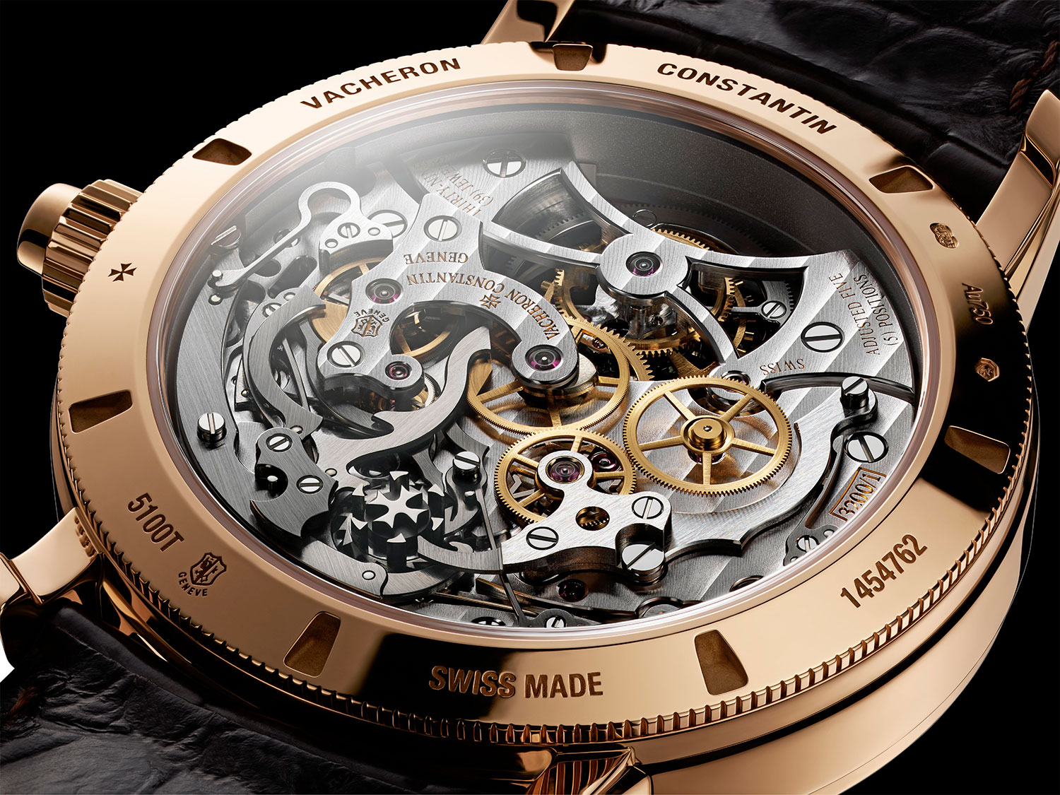 Calibre 3200 del Vacheron Constantin Traditionnelle Chronograph Tourbillon