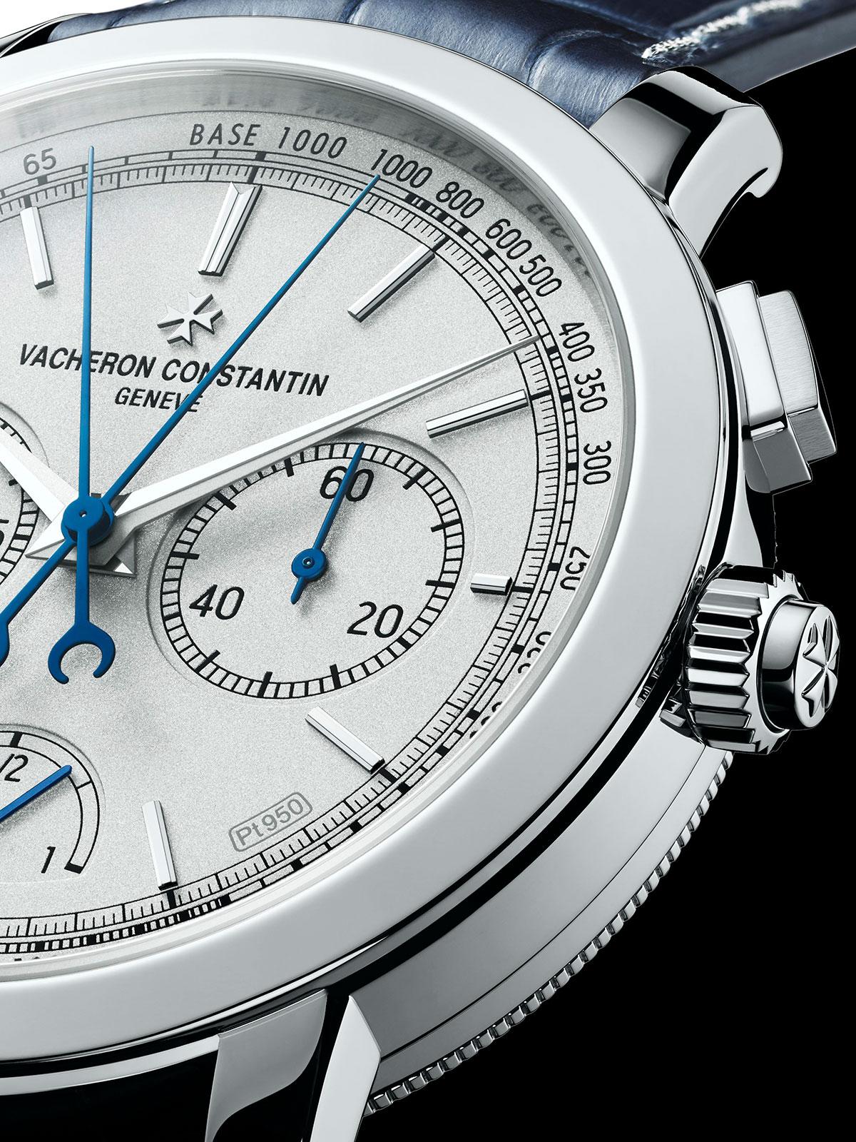Lateral del Vacheron Constantin Traditionnelle Split-Seconds Chronograph Ultra-thin