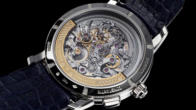 Calibre 3500 del Vacheron Constantin Traditionnelle Split-Seconds Chronograph Ultra-thin