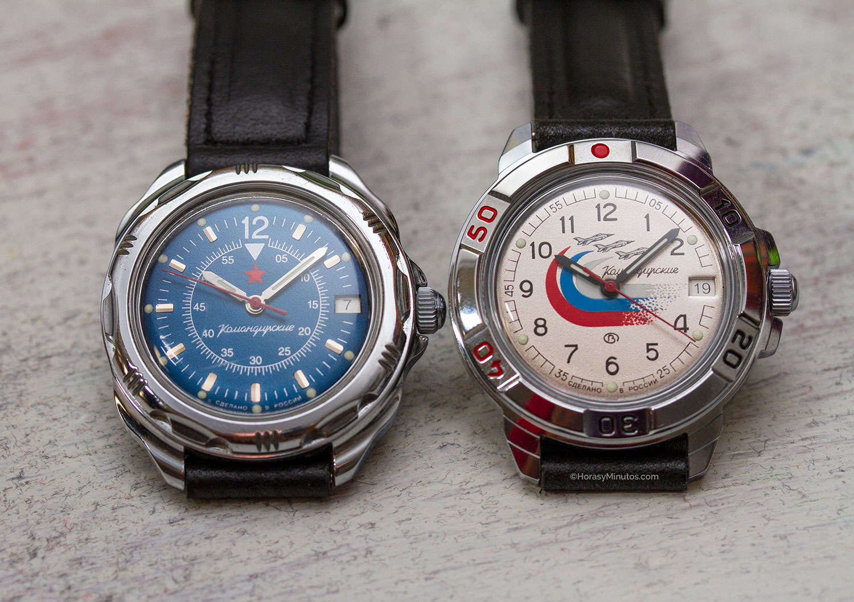 10 relojes mecánicos por menos de 1000 euros - Vostok