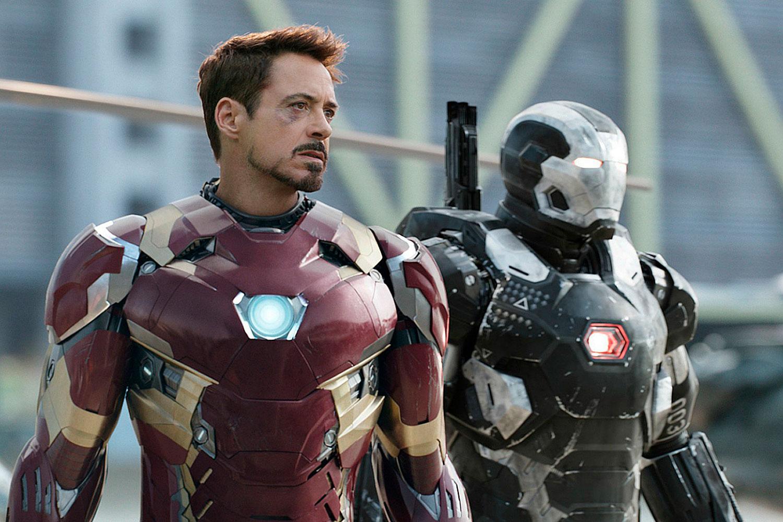 Iron Man y War Machine (Don Cheadle)