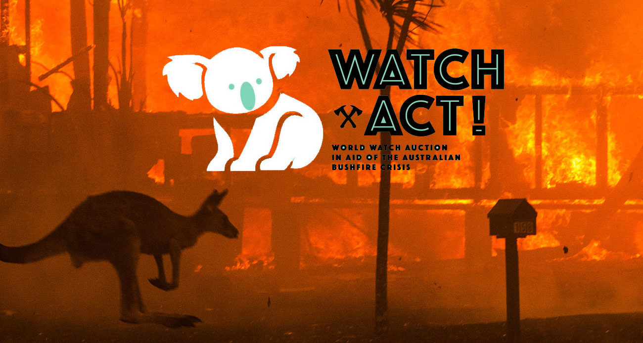 Watch & Act! Portada
