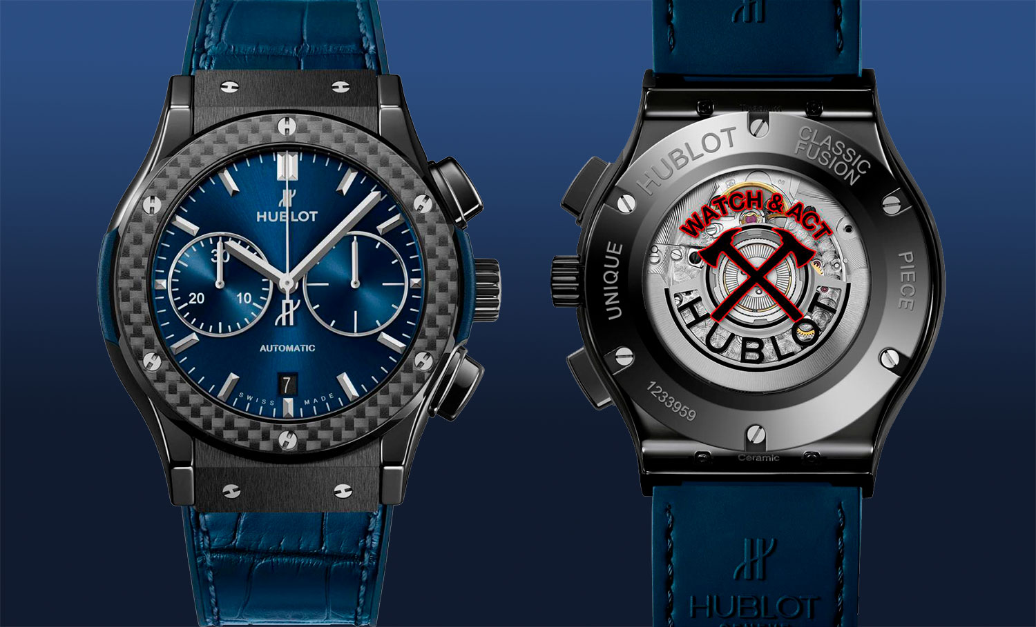 Watch & Act! Hublot