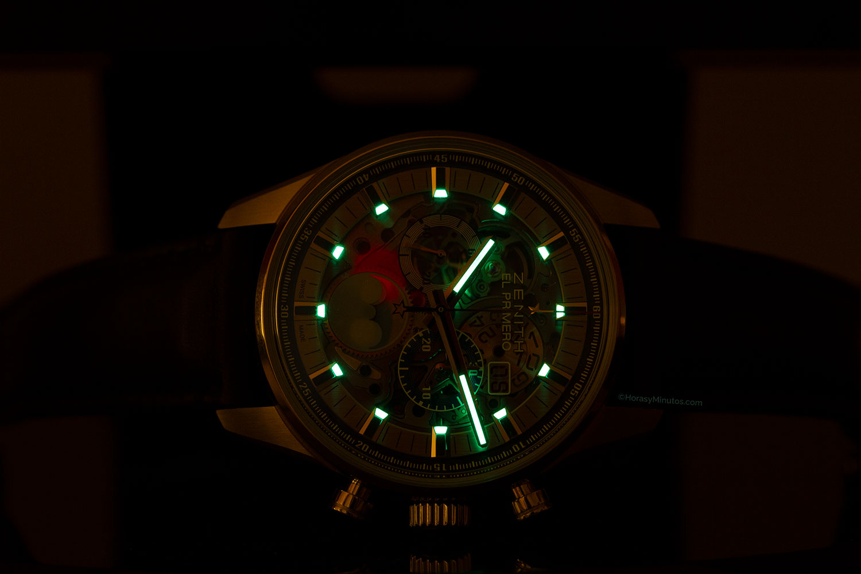 Zenith Chronomaster El Primero Grande Date Full Open