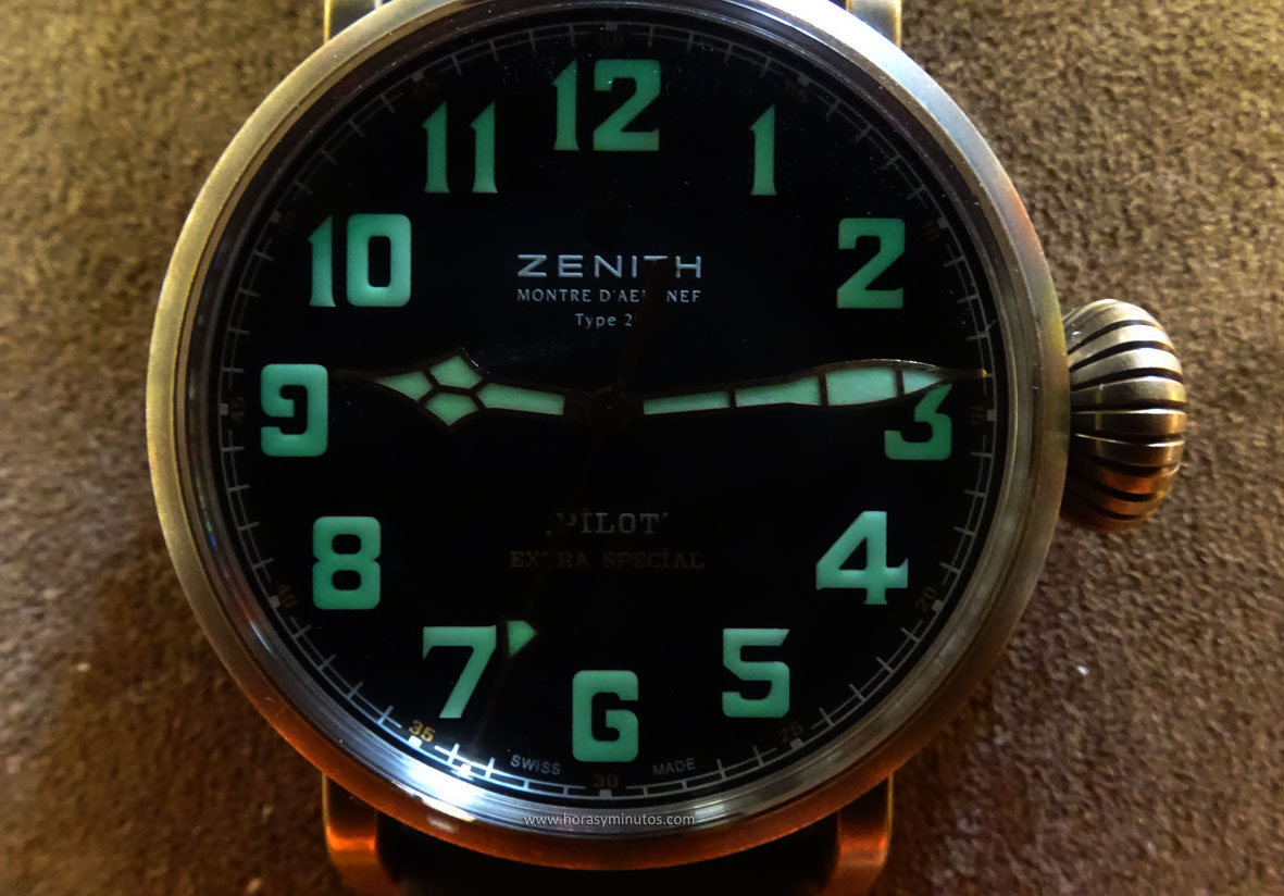 Zenith Pilot Type 20 Extra Special Bronze SuperLuminova