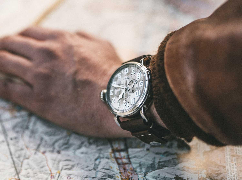 Así queda el Zenith Pilot Type 20 Silver Chronograph