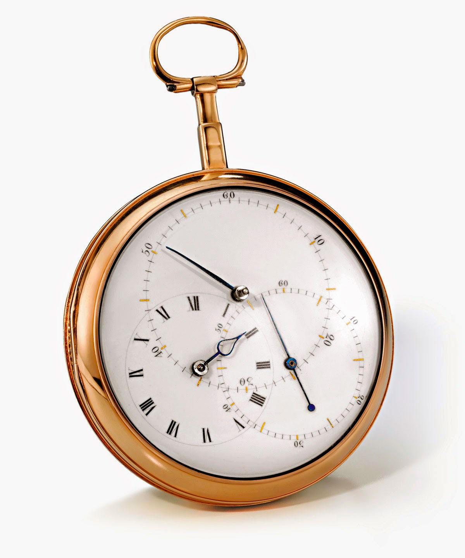 cronómetro de bolsillo nº 93 de 1807 de Johann Heinrich Seyffert Horas y Minutos