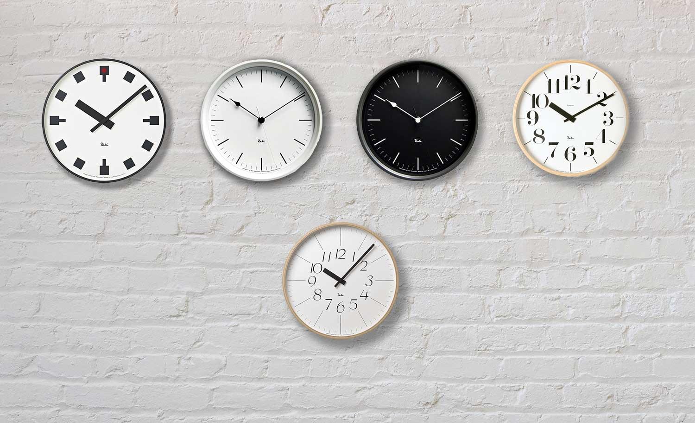 Relojes de pared de Riki Watanabe