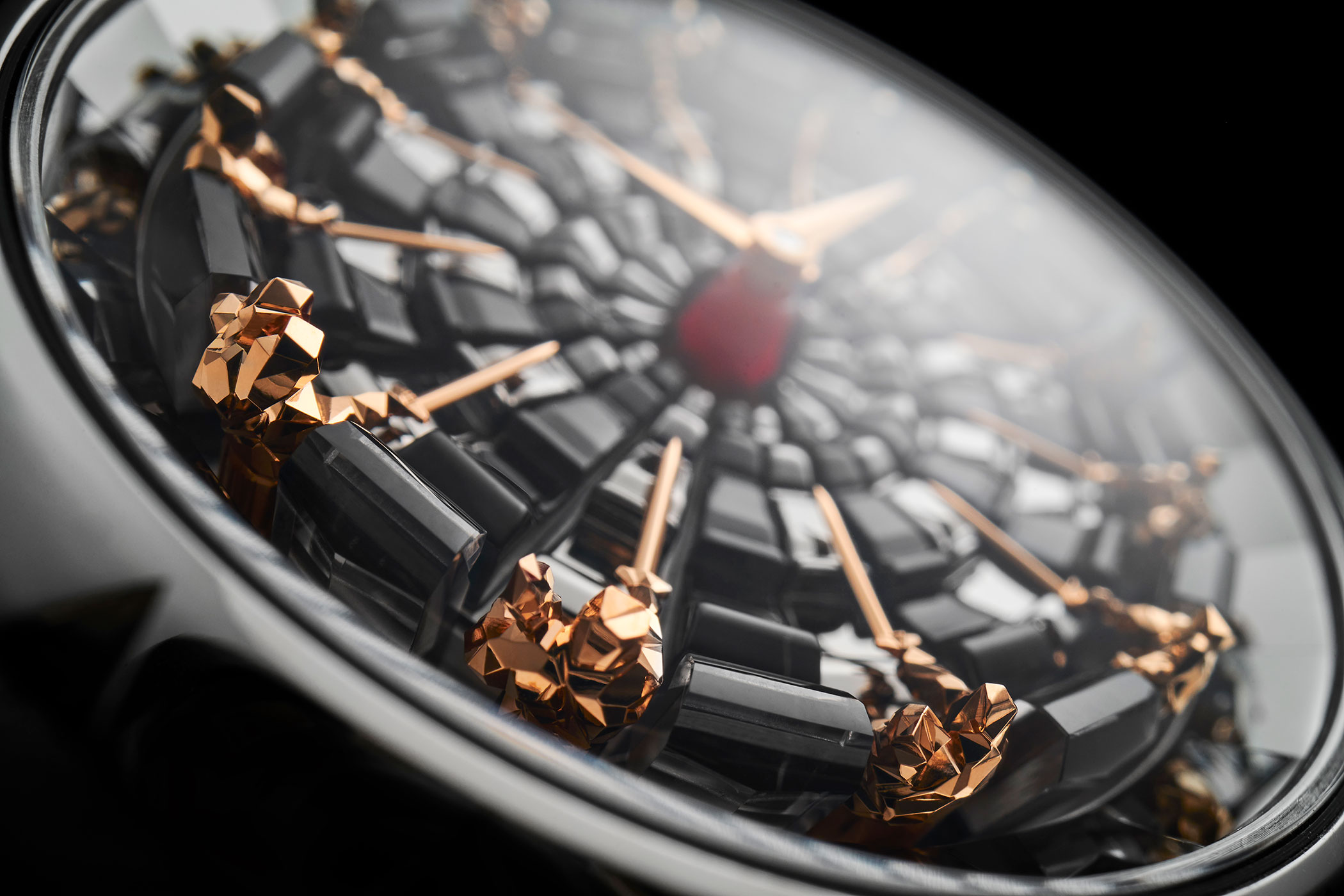 Detalle del Roger Dubuis Excalibur Knights of The Round Table