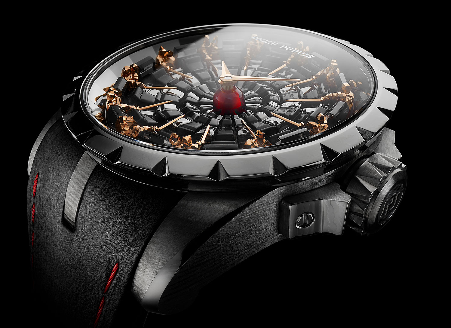 Roger Dubuis Excalibur Perfil del Knights of The Round Table